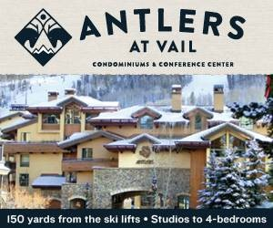 Antlers at Vail - 150 yards from the Vail Gondola - exceptional condominium lodging from Studio to 4 bedroom units.