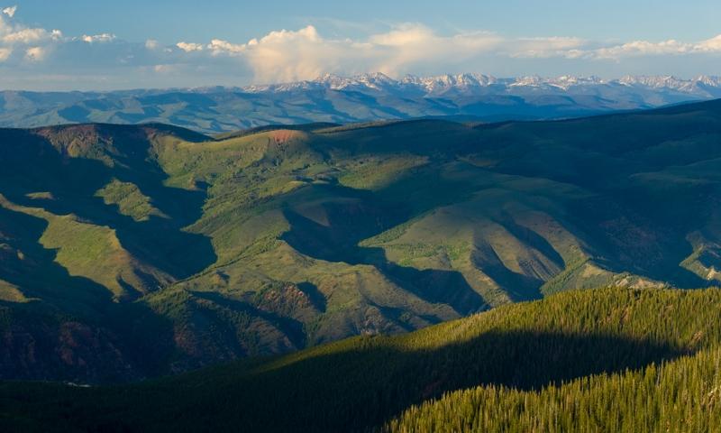 The Gore Range in Eagle's Nest Wilderness