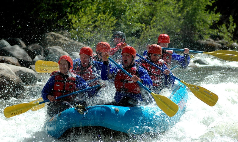 Whitewater Rafting Vail Colorado