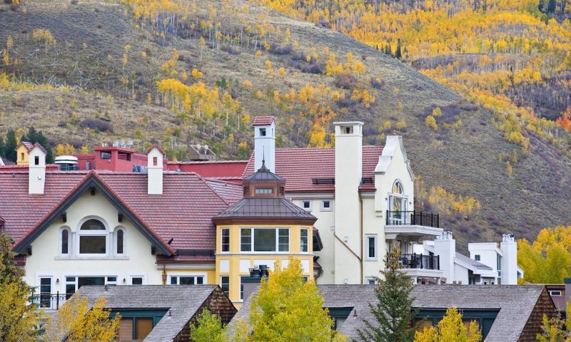 Vail Village in Colorado