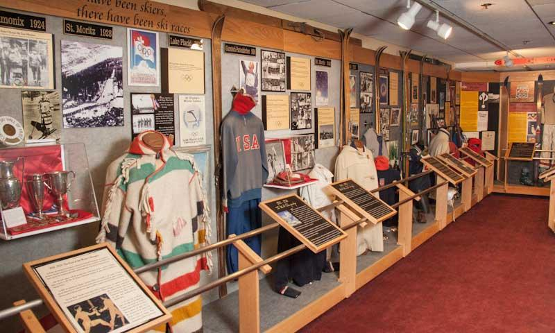 Display in the Colorado Ski and Snowboard Museum