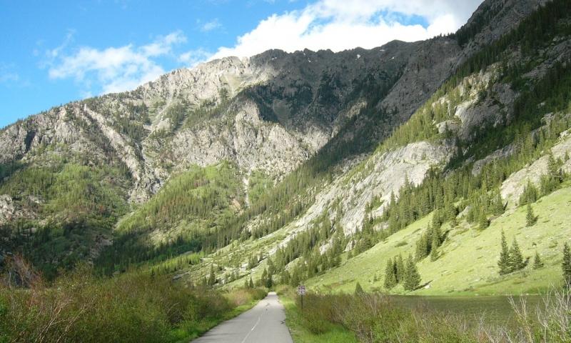 Vail Pass Pathway Colorado