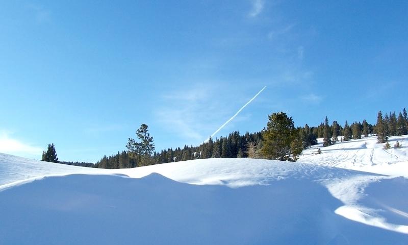 Vail Pass Colorado Winter