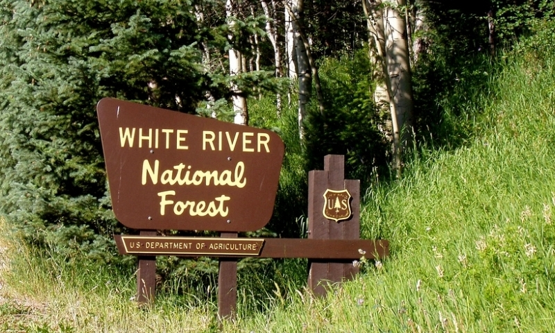 White River National Forest Colorado