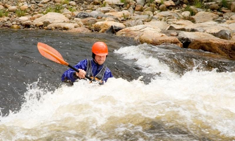 Kayaking Whitewater Yampa River Steamboat Springs Colorado