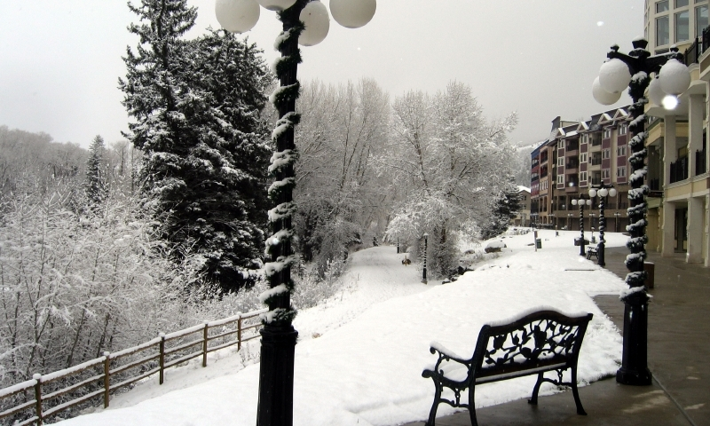 Winter in Edwards Colorado