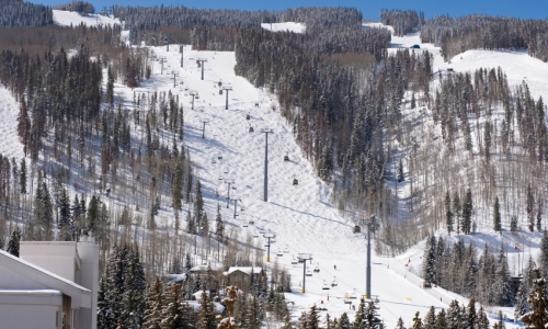 Lionshead Gondola Vail Colorado