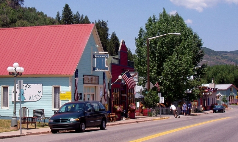 Downtown Minturn Colorado