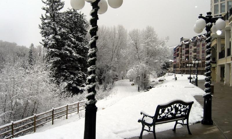 Winter in Edwards Colorado