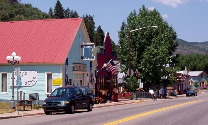 Downtown Minturn Colorado