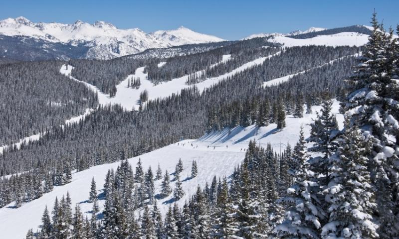 Skiing at Vail