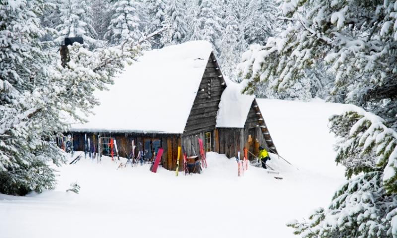 Backcountry Ski Hut