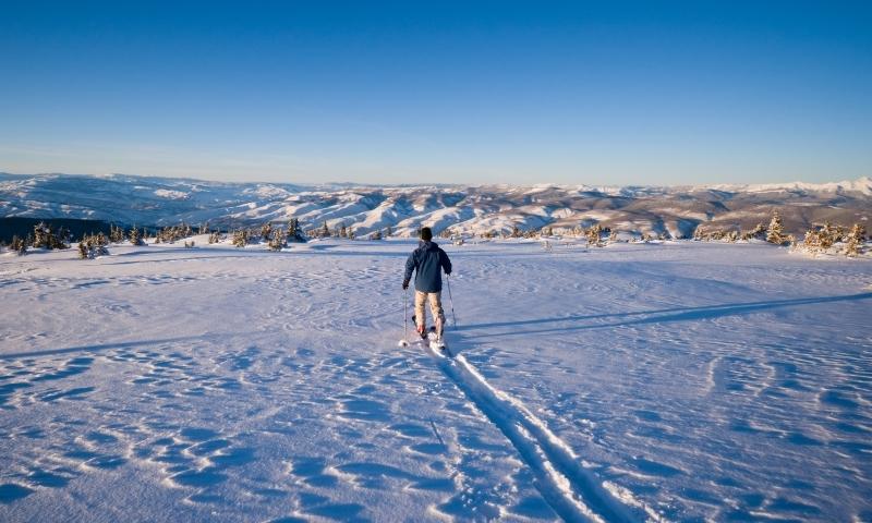 Ski Touring near Vail