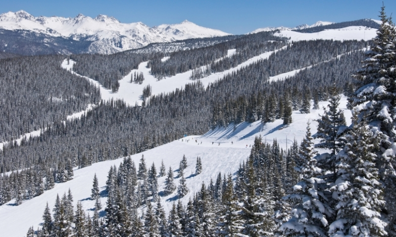 Skiing at Vail