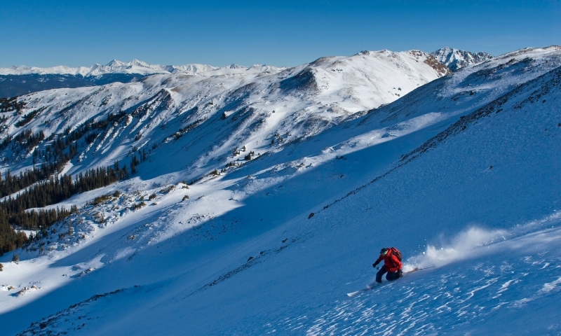 Skiing the Backcountry near Beaver Creek