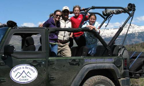 Guided Jeep Tour near Vail