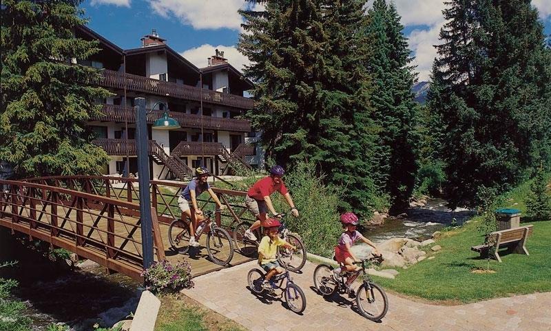Vail Family Biking