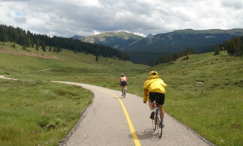 Tenmile Creek Vail Biking