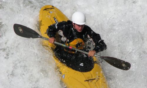 Kayaking the Colorado River near Vail
