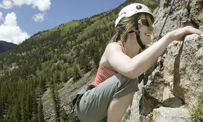 Climbing in Vail Colorado