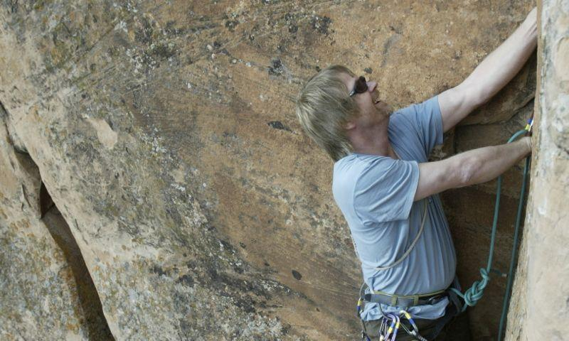 Climbing in Vail