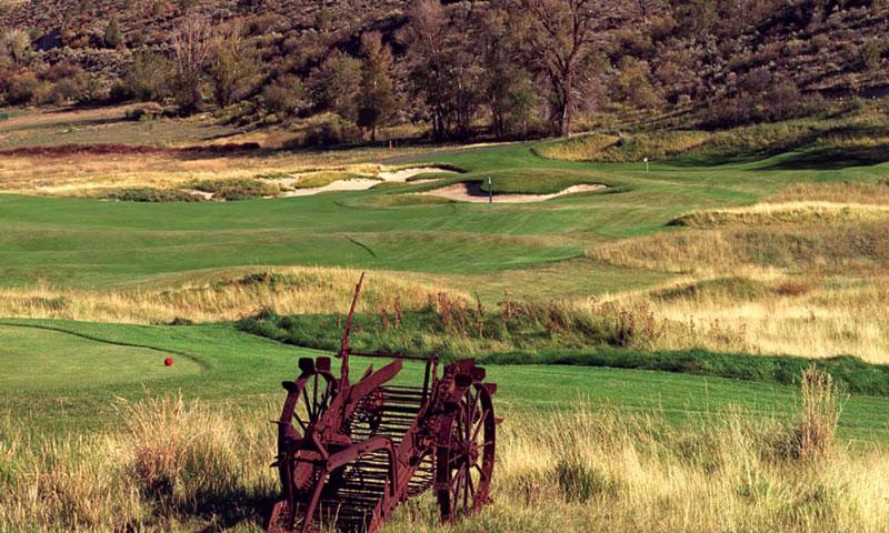 Eagle Ranch Golf Club in Vail
