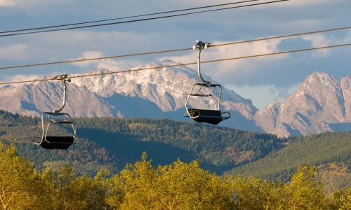Vail Colorado Chairlift Rides