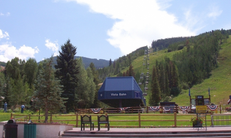 Chairlift at Vail