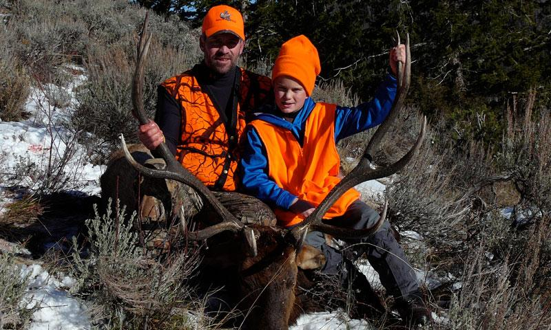 Hunting with Black Mountain Ranch near Vail Colorado.