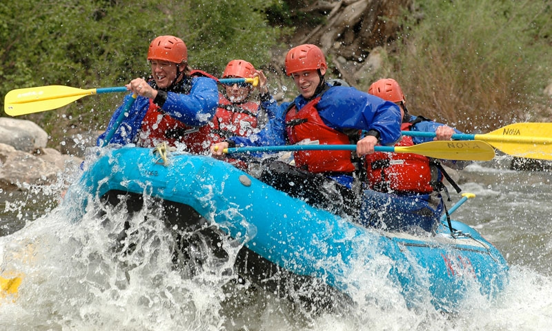 Whitewater Rafting in Vail