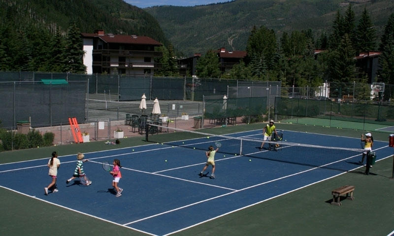 Vail Tennis at the Vail Racquet Club