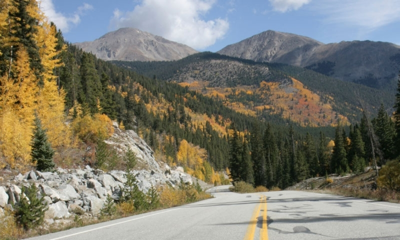Scenic Road near Beaver Creek Colorado