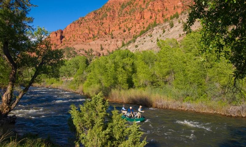 Fishing the Eagle River