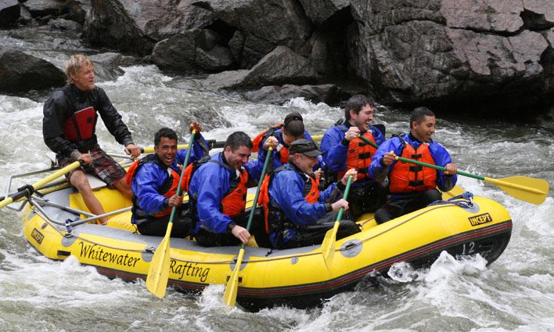 Rafting in Vail Colorado