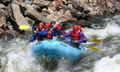 Vail Colorado White Water Rafting