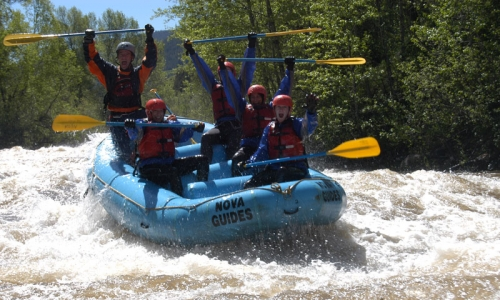 Vail White Water Rafting