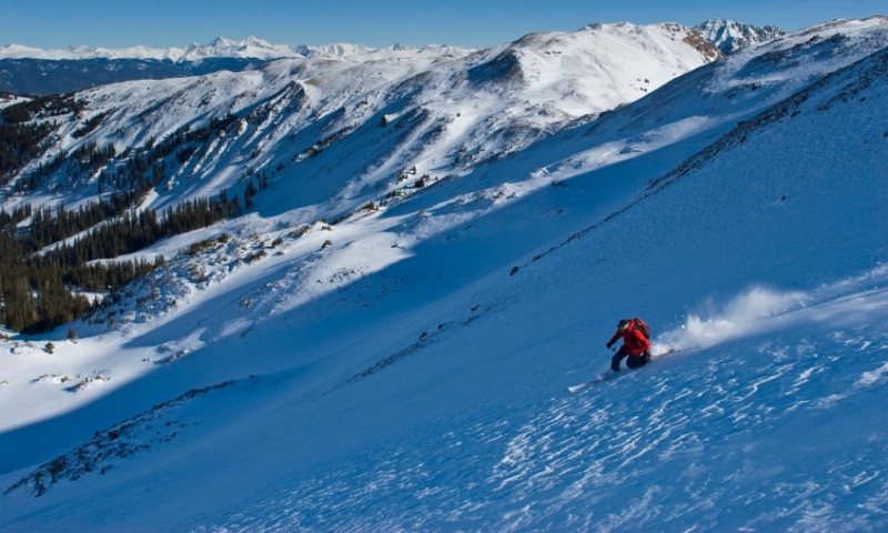 Skiing the Backcountry near Beaver Creek