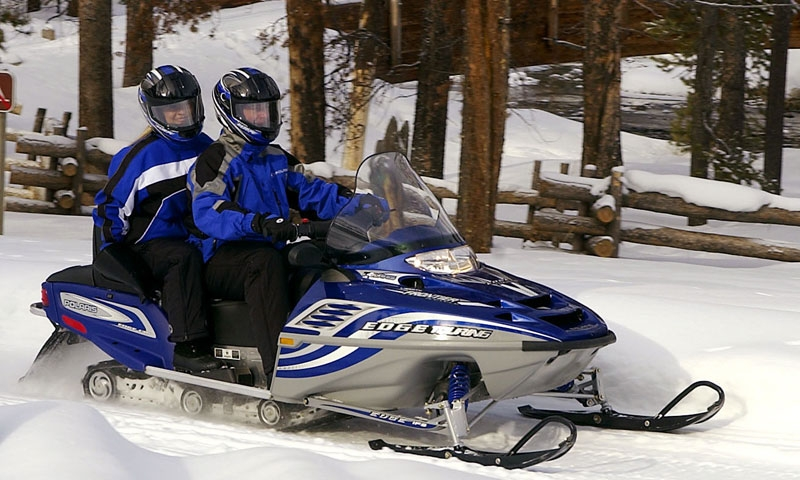 Snowmobiling Vail Colorado