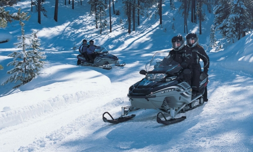 Snowmobiling Vail Colorado